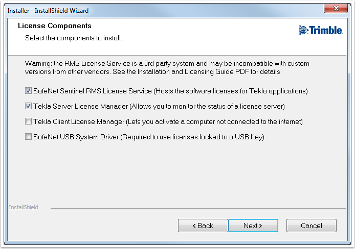 I cannot activate my Tekla Tedds PAK - The message