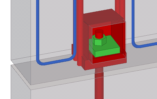 Wall Panel Shoe Connection Tekla User Assistance