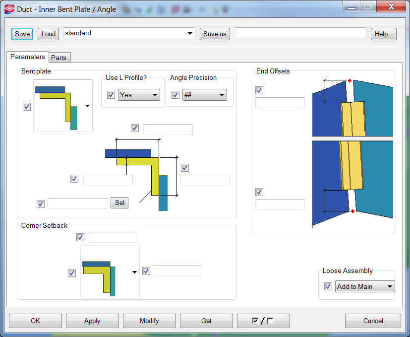 Duct Inner Bent Plate   Tekla User Assistance