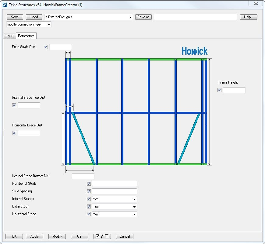 Howick Tools | Tekla User Assistance