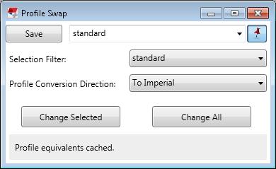 Profile Swap | Tekla User Assistance