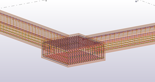 Inserting rebars to the cast unit in Tekla Structures