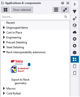 Export to Revit Geometry | Tekla User Assistance