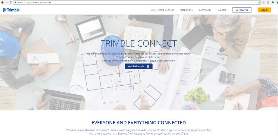 How To Create a Trimble Connect Project | Tekla User Assistance