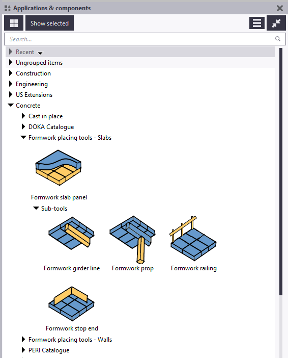 Formwork Placing tools - Slabs: Release notes | Tekla User Assistance