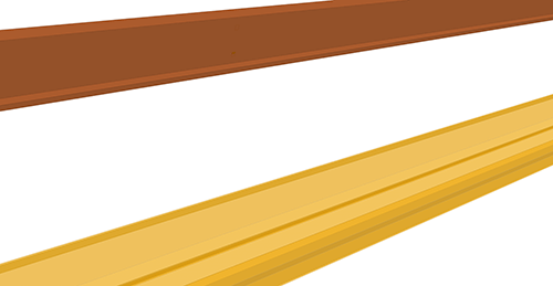 Tekla Structures model before adding Albion Eaves Brace (64)