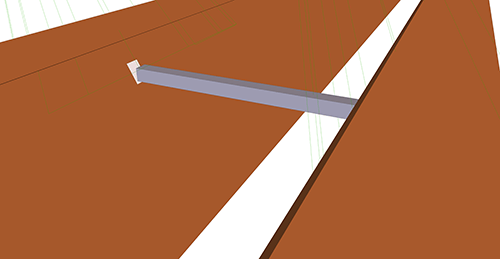 Tekla Structures model after adding Albion Apex Ties (66)