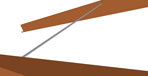 Tekla Structures model after adding Albion Non-Standard Anti-Sag (87)
