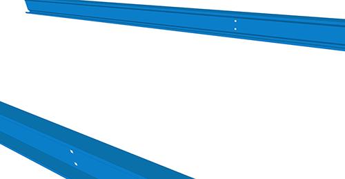 Tekla Structures model before adding Ayrshire Non-Standard Anti-Sag (67)