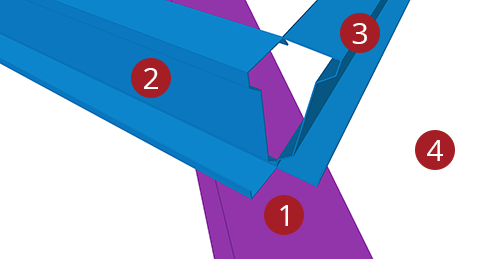 The order to select Tekla Structures model when adding Ayrshire Shearplate to Hip (8)