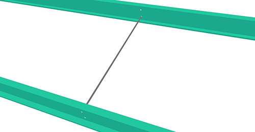 Tekla Structures model after adding CMF Non-Standard Anti-Sag (57)