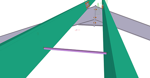 Tekla Structures model after adding CMF Apex Ties (9)
