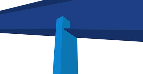 Tekla Structures model before adding Kingspan Gable Post Shear Plate (105)