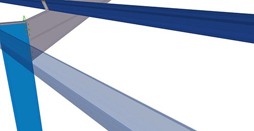 Tekla Structures model before adding Kingspan Eaves Brace (16)