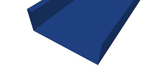 Tekla Structures model before adding Kingspan Autoform Detail (3)