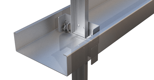 Metsec Rapid Fit Side Rail (35) Cold Rolled steel systems