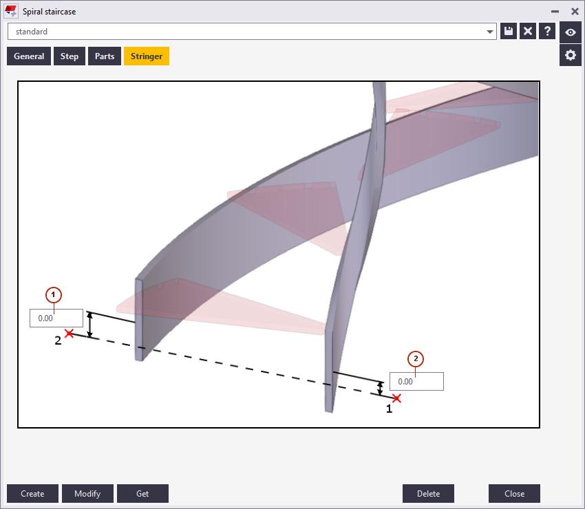 Spiral Staircase Tekla User Assistance