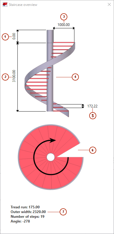 Spiral Staircase Tekla User Assistance