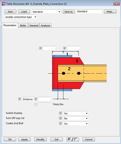 where is applications and component in tekla