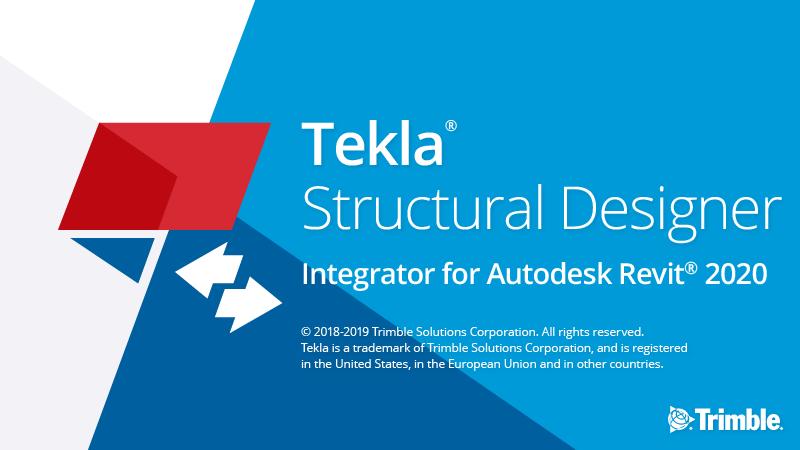 Tekla Structural Designer Integrator June 2019 updates